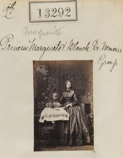 Princess Blanche d'Orléans; Princess Marguerite Adelaide d'Orleans, by Camille Silvy - NPG Ax62925
