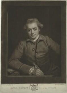 John Gawler, by John Raphael Smith, after  Sir Joshua Reynolds - NPG D34391