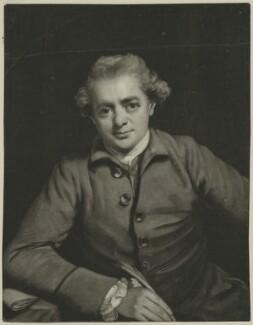 John Gawler, by John Raphael Smith, after  Sir Joshua Reynolds - NPG D34392