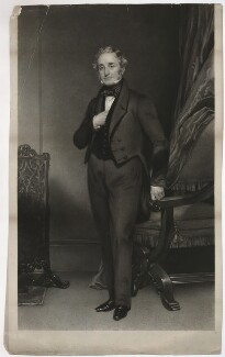 Thomas Cubitt, by George Raphael Ward, after  Henry William Pickersgill - NPG D34417