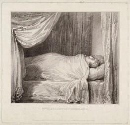 Elizabeth Cumberland (née Ridge), by Peltro William Tomkins, after  Lady Elizabeth Bentinck - NPG D34424