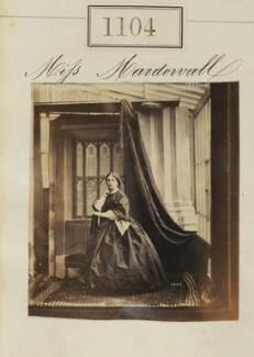 Miss MacDowall, by Camille Silvy - NPG Ax50600
