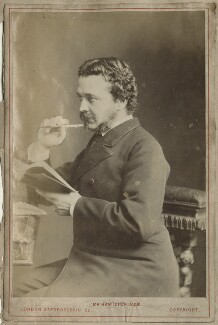 (Charles) Hamilton Aidé, by London Stereoscopic & Photographic Company, 1870s - NPG Ax68310 - © National Portrait Gallery, London