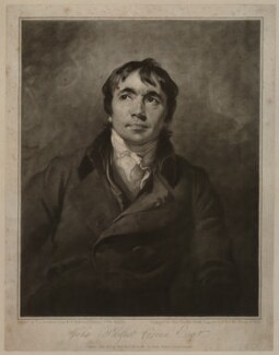 John Philpot Curran, by John Raphael Smith, after  Sir Thomas Lawrence - NPG D34435