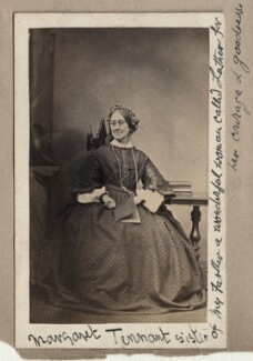 Margaret Tennant, by Unknown photographer, 1860s - NPG Ax68311 - © National Portrait Gallery, London
