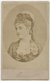 Adelina Patti, after Unknown photographer - NPG x12683