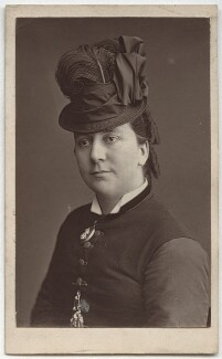 Janet Monach Patey (née Whytock), by Unknown photographer - NPG x12689