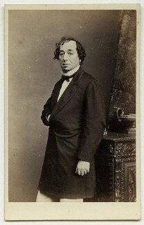 Benjamin Disraeli, Earl of Beaconsfield, by Mayall - NPG x76461