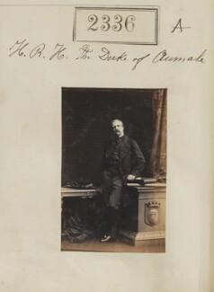 Henri Eugène Philippe Louis d'Orléans, duc d'Aumale, by Camille Silvy - NPG Ax51724