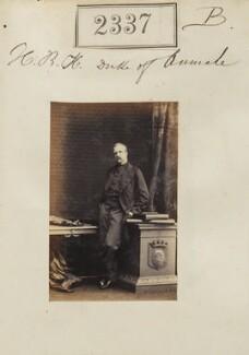 Henri Eugène Philippe Louis d'Orléans, duc d'Aumale, by Camille Silvy - NPG Ax51725