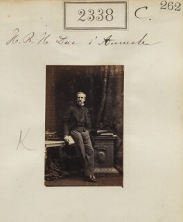 Henri Eugène Philippe Louis d'Orléans, duc d'Aumale, by Camille Silvy - NPG Ax51726