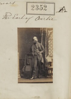 David Graham Drummond Ogilvy, 5th Earl of Airlie, by Camille Silvy, 6 March 1861 - NPG Ax51740 - © National Portrait Gallery, London