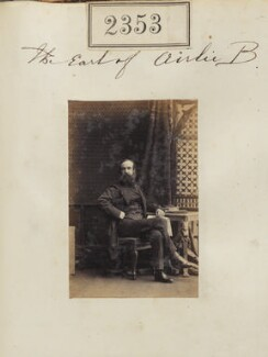 David Graham Drummond Ogilvy, 5th Earl of Airlie, by Camille Silvy - NPG Ax51741