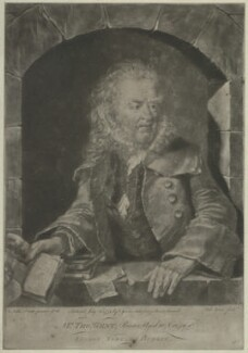 Thomas Gent, by and published by Valentine Green, after  Nathan Drake - NPG D34442