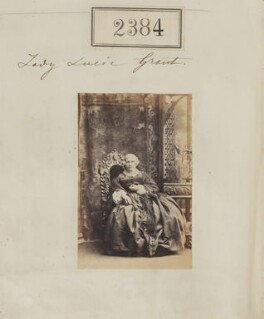 Lady Lucy Grant (née Bruce), by Camille Silvy - NPG Ax51771