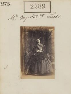 Anna Maria Frances Leeds (née Savage), by Camille Silvy - NPG Ax51776