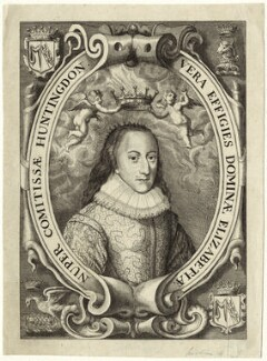 Elizabeth Hastings (née Stanley), Countess of Huntingdon, after John Payne, published by  William Richardson - NPG D34396