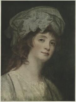 Stéphanie Félicité Ducrest de Saint-Aubin, Comtesse de Genlis, published by The Medici Society Ltd, after  George Romney - NPG D34444