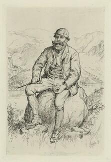 James Murdoch Geikie, by William Brassey Hole - NPG D34446