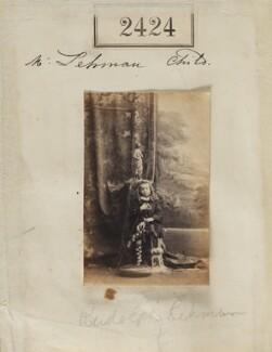Rudolph Chambers Lehmann, by Camille Silvy - NPG Ax51813