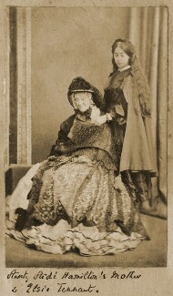 Georgina Aïdá (née Collier); (Alice) Elsie Tennant, by Unknown photographer - NPG Ax68308