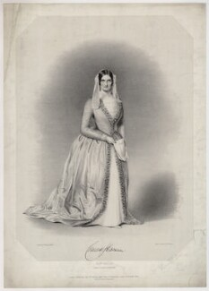 Charlotte Cushman as Mrs Haller in 'The Stranger', by George B. Black, published by  Messrs Fores, after  William Henry Watkins - NPG D34484