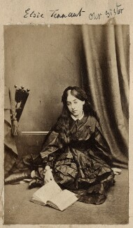 (Alice) Elsie Tennant, by Unknown photographer - NPG Ax68323