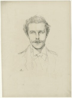 Harry Cust, after Violet Manners, Duchess of Rutland - NPG D34486