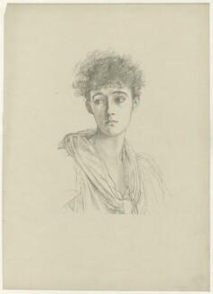 Emmeline Mary Elizabeth ('Nina') Cust (née Welby-Gregory), after Violet Manners, Duchess of Rutland - NPG D34487