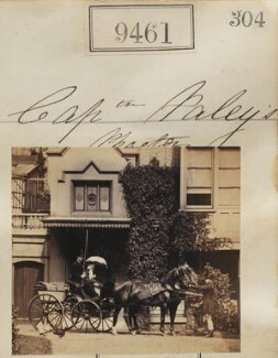 'Captain Paley's phaeton' (including Raymond South Paley), by Camille Silvy - NPG Ax59268