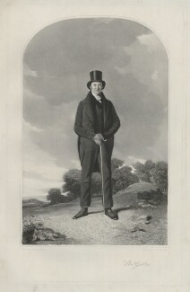 Thomas Gibbs, by Samuel William Reynolds Jr, printed by  Brooker & Harrison, published by  Thomas Agnew, published by  Rudolph Ackermann Jr, published by  Anaglyphic Company, after  Richard Ansdell - NPG D34452