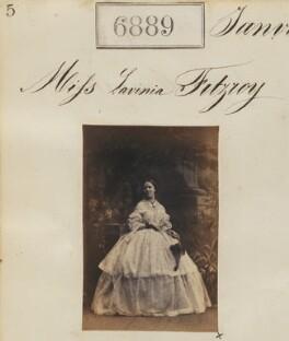 Lavinia Gore (née FitzRoy), by Camille Silvy - NPG Ax56808