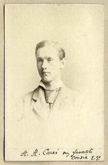 Arthur Augustus Carré, by Unknown photographer - NPG Ax68316