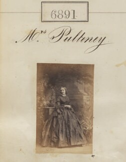 Emma Pulteney (née Dalison), by Camille Silvy - NPG Ax56810