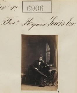 Frederic Hyman Lewis, by Camille Silvy - NPG Ax56825