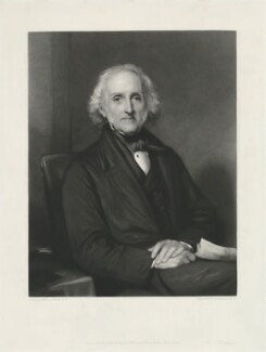 William Gibbs, by Samuel Cousins, published by  Holloway & Son, after  Sir William Boxall - NPG D34455
