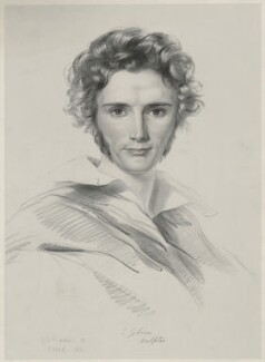 John Gibson, by Thomas Herbert Maguire, printed by  M & N Hanhart, after  Seymour Stokes Kirkup - NPG D34458