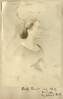 Dorothy (née Tennant), Lady Stanley, by Unknown photographer - NPG Ax68343