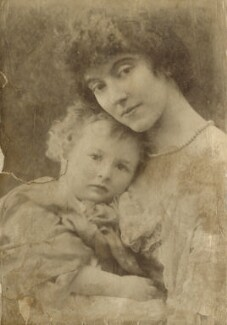 Leopold Hamilton Myers; Eveleen Myers (née Tennant), by Hayman Seleg Mendelssohn, circa 1883 - NPG Ax68347 - © National Portrait Gallery, London