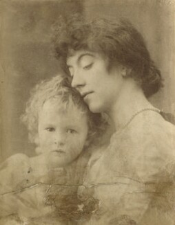 Leopold Hamilton Myers; Eveleen Myers (née Tennant), by Hayman Seleg Mendelssohn - NPG Ax68348