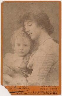 Leopold Hamilton Myers; Eveleen Myers (née Tennant), by Hayman Seleg Mendelssohn - NPG x45391