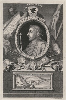 Canute or Cnut 'the Great', by George Vertue - NPG D9368