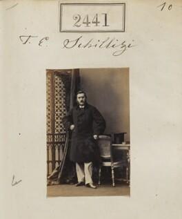 Theodore Emmanuel Schilizzi, by Camille Silvy - NPG Ax51830