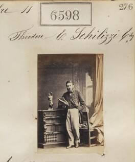 Theodore Emmanuel Schilizzi, by Camille Silvy - NPG Ax56531