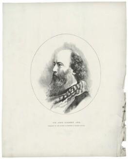 Sir John Gilbert, after Elliott & Fry - NPG D34499