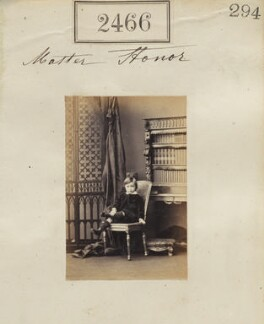Francis Robert Stonor, 4th Baron Camoys, by Camille Silvy - NPG Ax51855