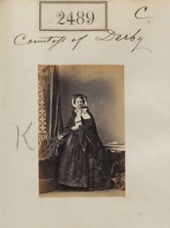 Emma Caroline Stanley (née Bootle-Wilbraham), Countess of Derby, by Camille Silvy - NPG Ax51878