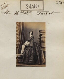Lady Emma Charlotte Talbot (née Stanley), by Camille Silvy - NPG Ax51879
