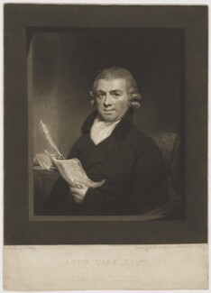 John Dale, by and published by John Young, after  Henry Ashby - NPG D34491
