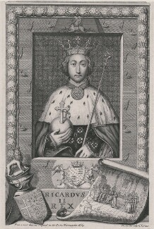 King Richard II, by George Vertue, after  Unknown artist - NPG D9388